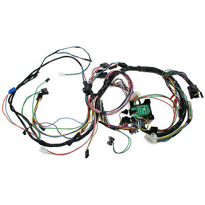 AMP Mustang Underdash Wiring Harness Without Tachometer 1969