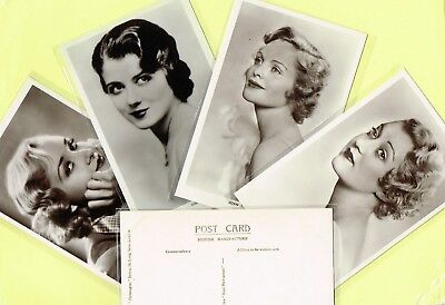 PICTUREGOER - MAIN Series 1930s Film Star Postcards #547 to #583 [Cinema/Movie]