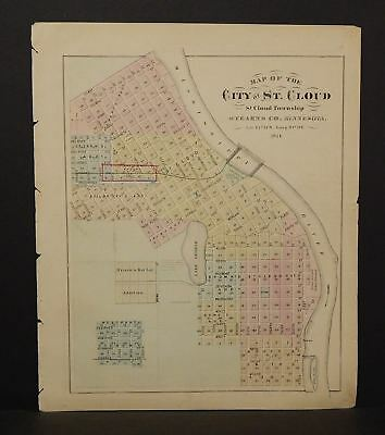 Minnesota City of St.Cloud or Glencoe *Special Purchase 1874 K15#11