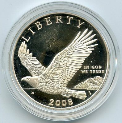 2008 Bald Eagle Proof Silver Dollar - Commemorative Coin AM358