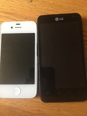 Lot Of 2 Phones Used Working Used
