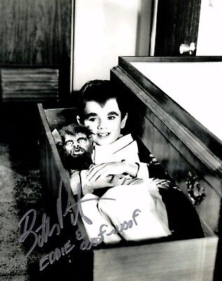 Butch Patrick Eddie Munster The Munsters In Drawer Autographed 8X10 Photo