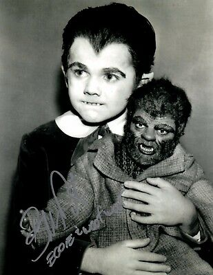 Butch Patrick Eddie Munster The Munsters And Woof Woof Autographed 8X10 Photo