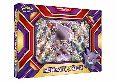 POKÉMON TCG Gengar EX Box Pokemon - Great Gift Idea - BNIB!!