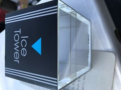 Ultra Pro Handmade Acrylic Ice Tower Deck Box The NEW Standard in Safe Storage