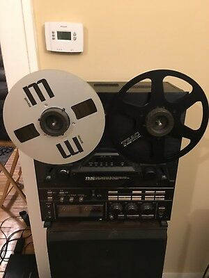 Teac X-2000 R Reel To Reel Stereo Tape Deck Black Serviced