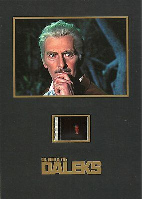 """DR WHO AND THE DALEKS - 5"""" x 7"""" Senitype Film Cell NEW"""