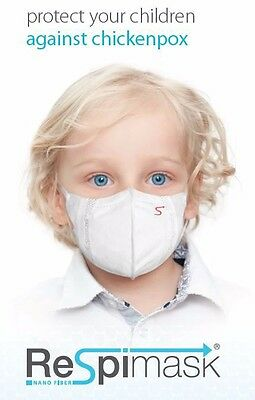 NEW Face Mask for Kids 10pcs protects from Viruses Chickenpox Allergens Flu Cold