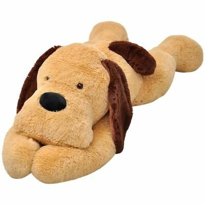 Extra-large Puppy Dog Cuddly Toy Plush Soft Kids Children Brown 80/120/160 cm