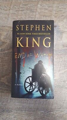 End of Watch by Stephen King (2017 1st Pocket Book Ed., Paperback)