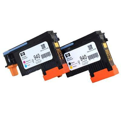 2 Pack 940 PRINTHEAD C4900A C4901A Cyan/Magenta For HP OfficeJet 8000 8500 AUD