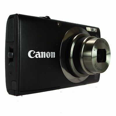 Canon PowerShot A2300 HD 16 MP Digital Camera PC1732 5X Zoom Charger Black