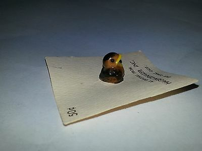 Hagen Renaker ROBIN BABY,Second Version BEAK OPEN----(VHTF)----miniature ceramic