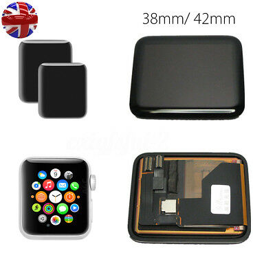 For Apple Watch iWatch 38mm 42mm LCD Screen Digitizer Front Glass Display UK