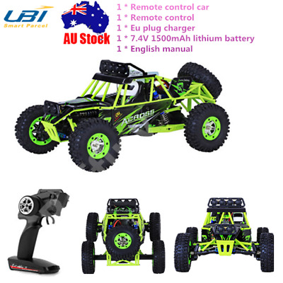 WLtoys 12428 1:12 Scale RC Off-road Car Truck Vehicle 2.4G 4WD Buggy Crawler Toy