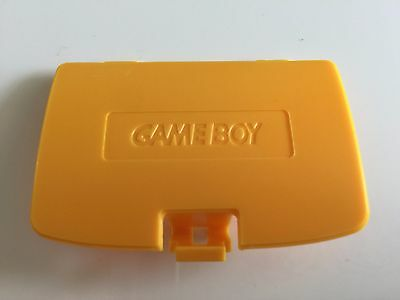 Nintendo Gameboy Color Battery Cover Yellow