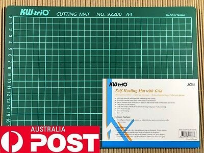 PVC Cutting Mat A4 Single Self-Healing Pad Patchwork Tool Handmade 30x22cmST