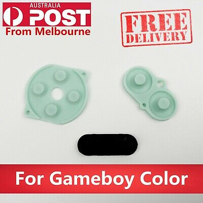 GBC REPLACEMENT CONDUCTIVE Buttons A-B, D-pad FOR Nintendo Gameboy Color