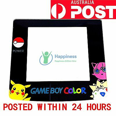 Nintendo GameBoy Color GBC Screen Lens (Pokemon ) Real glass never scratches!