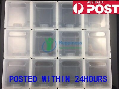 Clear Protective Game Cartridge Case Cover X12 For Nintendo GameBoy Color GB GBP
