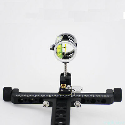 Recurve Arrow Bowsight Adjustable Bow Archery Hunting Target Shooting useful