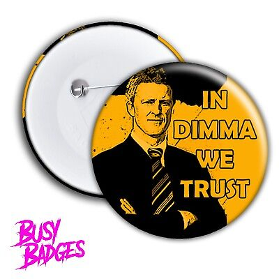 RICHMOND TIGERS - DAMIEN Dimma HARDWICK Badges & Magnets - 2017 Grand Final Cup