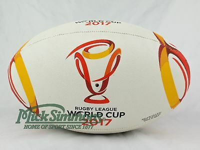 NEW Steeden 2017 Rugby League World Cup Replica Ball Size 5 (Full Size)