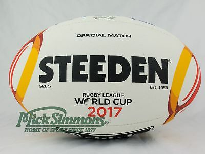 NEW Steeden 2017 Rugby League World Cup Match Ball