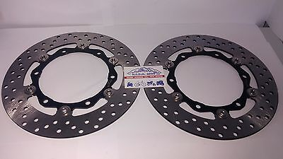 Pair Discs Front Floating T Max 500 2008 2009 2010 2011
