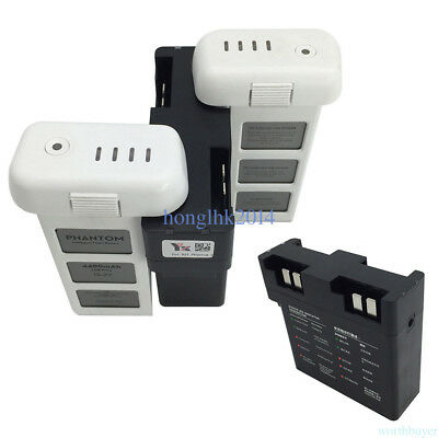 DJI Phantom 3 Battery Charging Hub Dock 4-in-1 4-Port Fast Charger Effective new