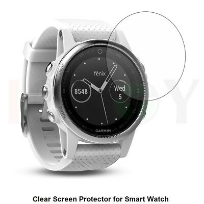 3x Clear LCD Screen Protector Cover Shield Film for Smart Watch Garmin Fenix 5S