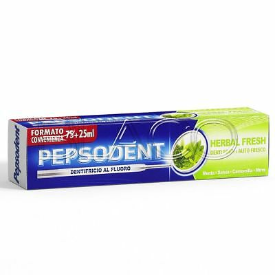 Pepsodent Dentifricio Per Denti Herbal Fresh - 100Ml