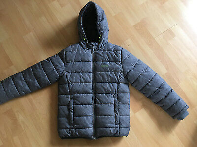 1 kinder jacke f jungen winterjacke gr 164 c a blau. Black Bedroom Furniture Sets. Home Design Ideas