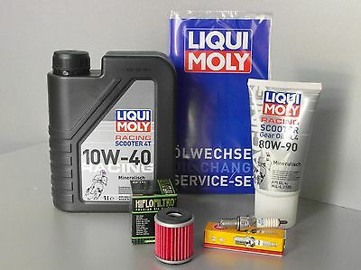 Maintenance - set TGB Bellavita 125 cc EFI, Oil Filter,Air Filters,Spark Plug,