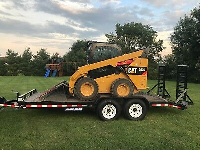 2016 Caterpillar 262d Cab Skid Steer Loaded Only 40 Hours  Combo Deal