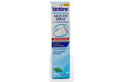 Biotene Moisturising Mouth Spray Gentle Mint 50mL