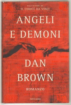 ANGELI E DEMONI di Dan Brown 1° ed. Mondadori 2003