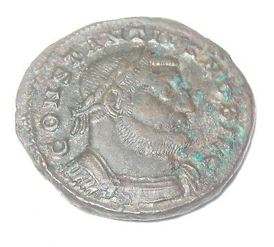 Ancient Roman Coin, CONSTANTINUS, 11 gm 28 mm, Large DETAILED Bronze, Look!
