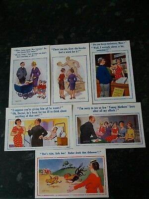 Donald Mcgill Comic Postcards