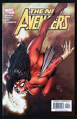 New Avengers #4 (2005).  1st Appearance of Maria Hill.  High Grade.
