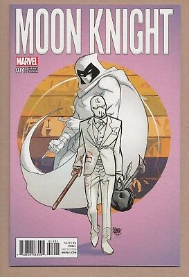 Moon Knight #14 - (9.4/NM) - 1:25 Pasqual Ferry Variant - (March 2017, Marvel)