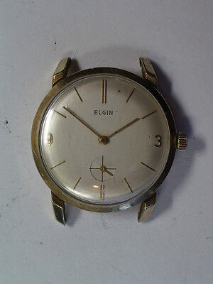 Vintage Large Round Elgin sub-second  Wristwatch       ww-61