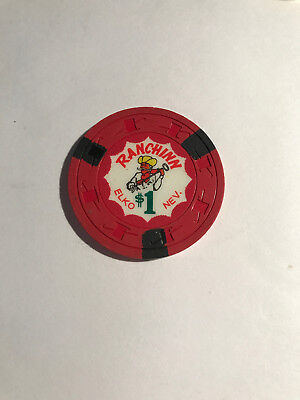Ranching $1 Collectable Casino Chips - Elko, Nev