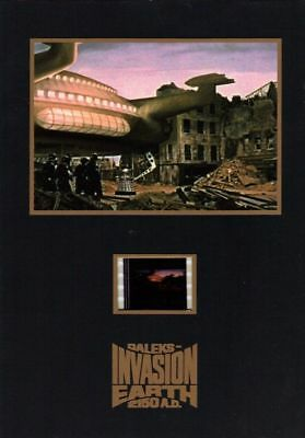 """DR WHO DALEKS  Invasion Earth 2150A.D. - 5"""" x 7"""" Senitype Film Cell NEW"""
