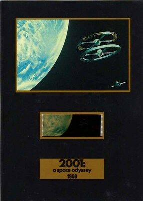 """2001: A Space Odyssey - 5"""" x 7"""" Senitype Film Cell NEW"""