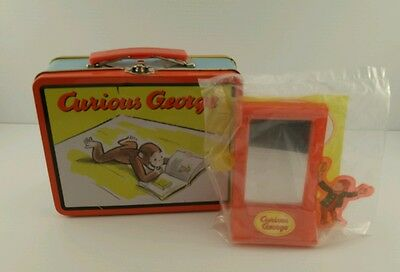 Curious George Metal Lunch Box! And Funhouse Mirror!