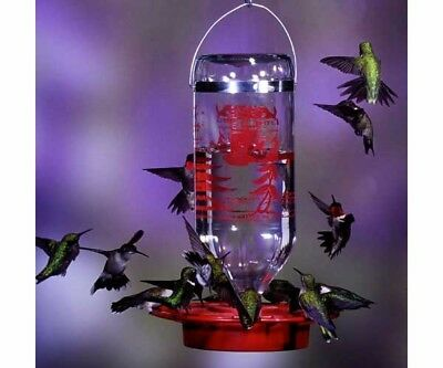 Original Best-1 32oz. Hummingbird Feeder, Glass Bottle, Plastic Base Best 1 USA