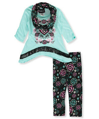 RMLA Little Girls' 3-Piece Outfit (Sizes 4 - 6X)