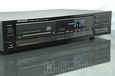 ►Kenwood Dp 87◄ Lettore Cd Player Con Manuale Old School Vintage Top !
