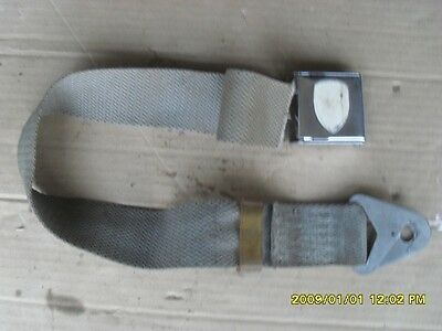 Used Original Porsche 356 911 912 Seat Belt Receiver With Chrome Buckle
